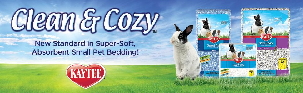 small animal bedding, clean and cozy, kaytee, hamster bedding, rabbit bedding, pet bedding