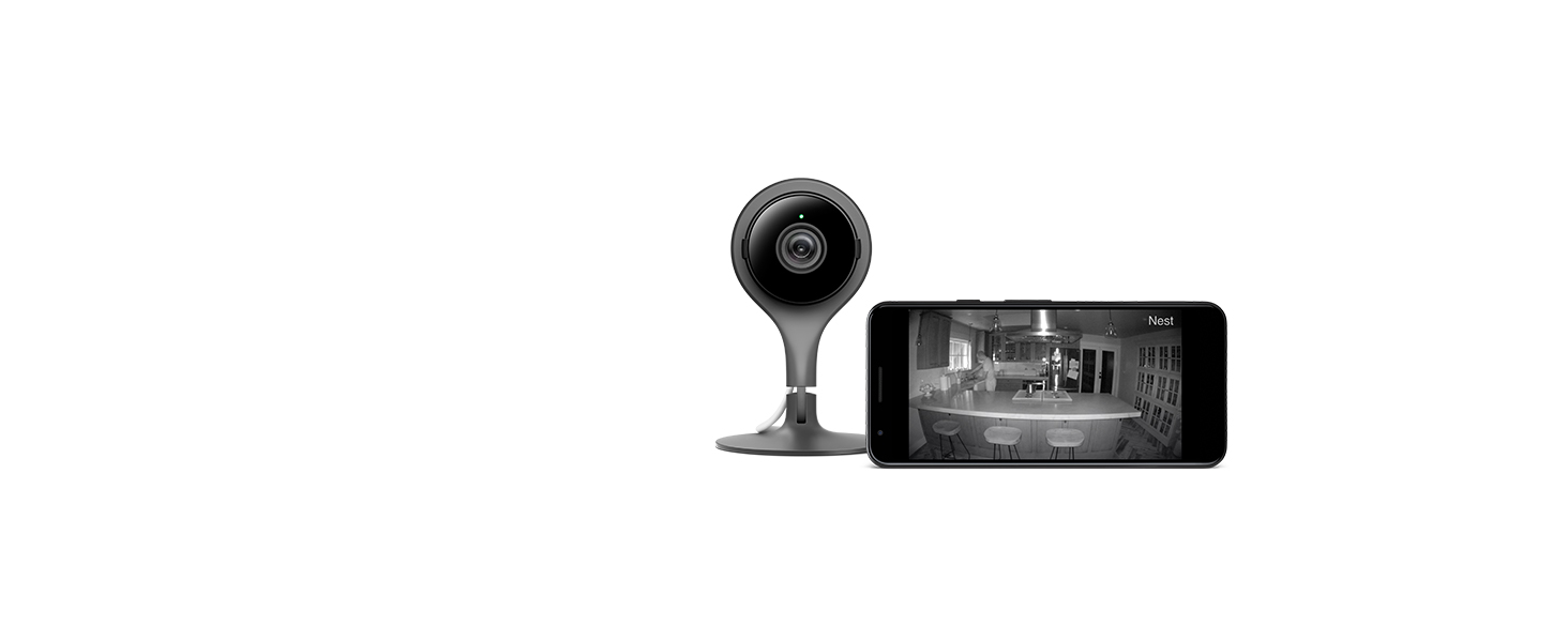 google nest cam night vision