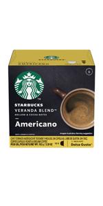 nescafe dolce gusto americano starbucks