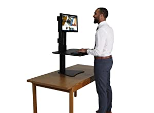 dc300 standing desk sit stand desk
