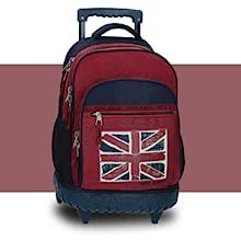 mochila escolar con ruedas chico