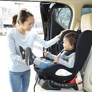 取付できる車両シートベルト・座席