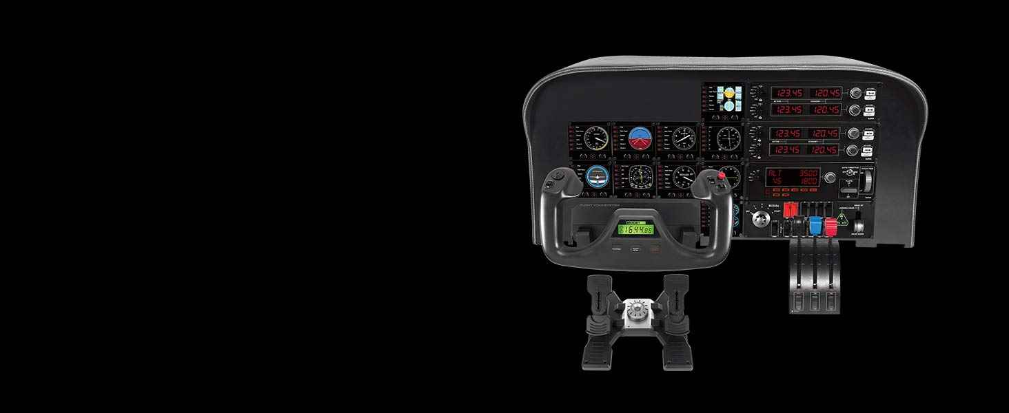 Logitech G Saitek Pro Flight Instrument Panel