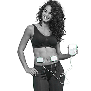 Body beautiful electrodes doubles sans fil abdo