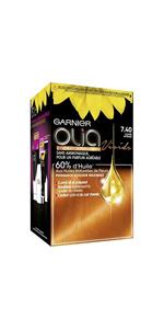 Garnier Coloración permanente, sin amoniaco, con aceites ...