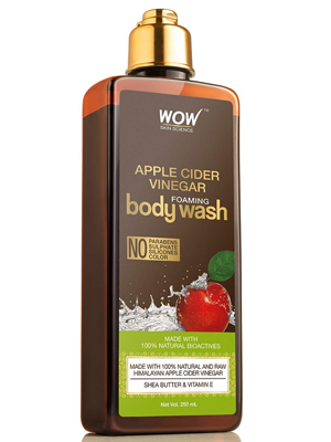WOW SKIN SCIENCE APPLE CIDER FOAMING BODY WASH
