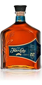 Ron Premium Flor de Caña 25 años - 1 botella de 70 cl: Amazon ...