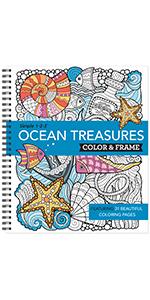 nautical adult coloring book teen grown up seniors activity book