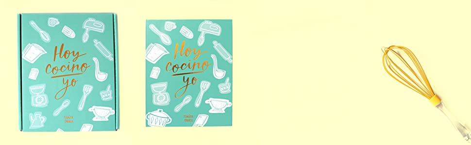 Pedrita Parker Hoy Cocino Yo - Recetario, color turquesa