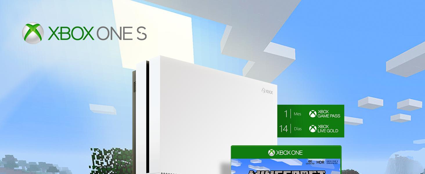 Consola S De 1 TB + Minecraft Complete Collection: Amazon.es ...
