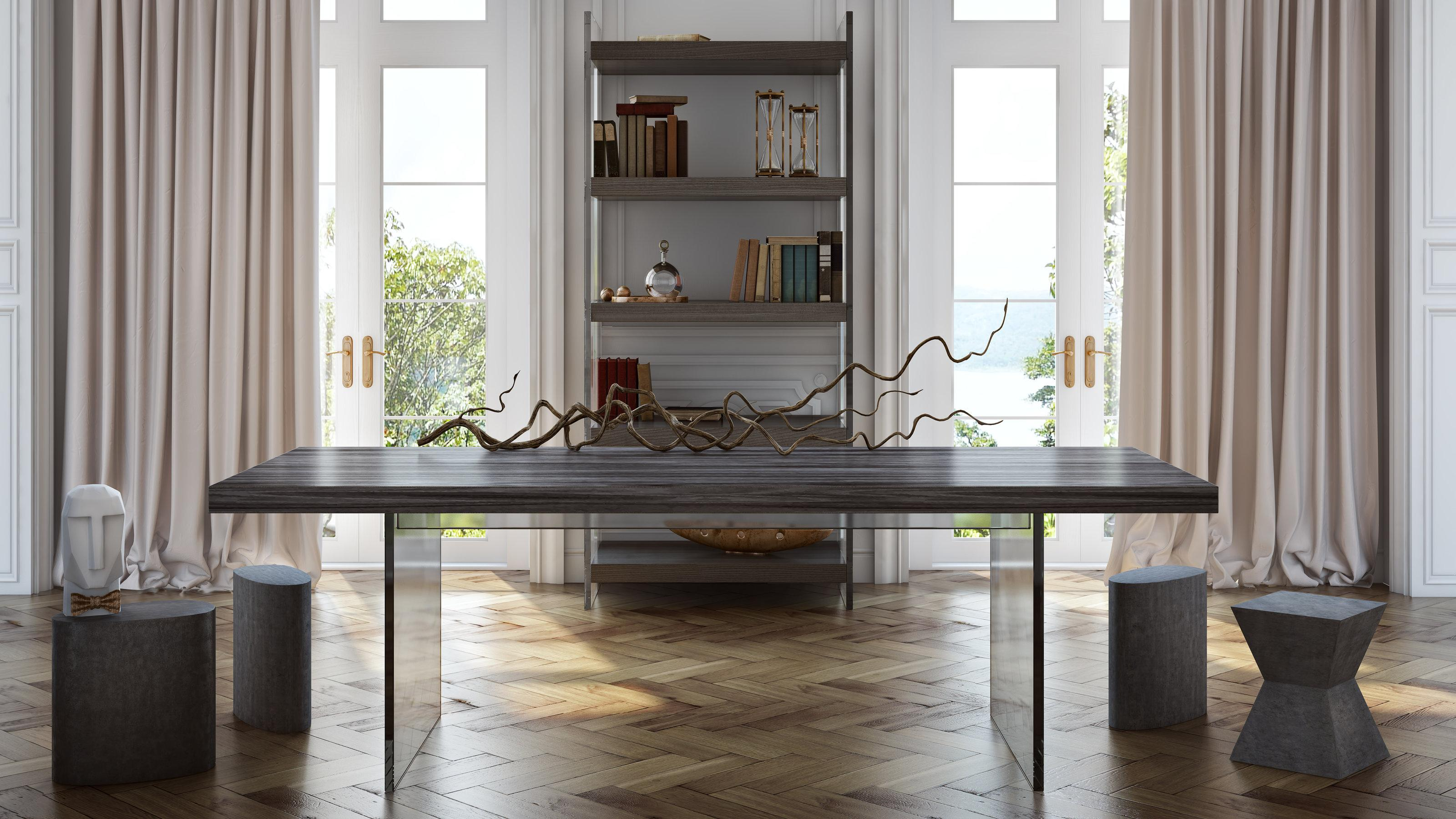 amazon com tov furniture the berlin collection modern home office