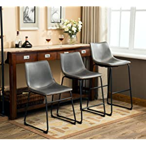 Amazon Com Roundhill Furniture Lotusville Vintage Pu