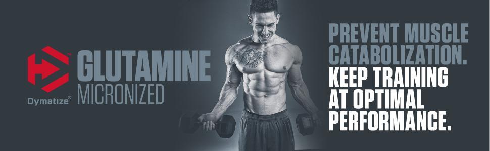 dymatize, glutamine, amino acids, dietary supplement, supplement, supplements