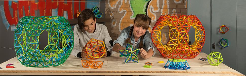 Geomag Classic Color Construcciones magnéticas y juegos educativos, 91 piezas (263), Multicolor: Amazon.es: Juguetes y juegos
