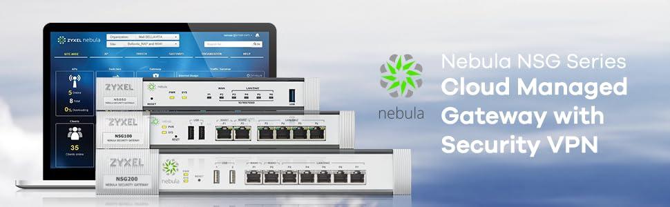 Nebula Cloud Security VPN Gateway Zyxel NSG100