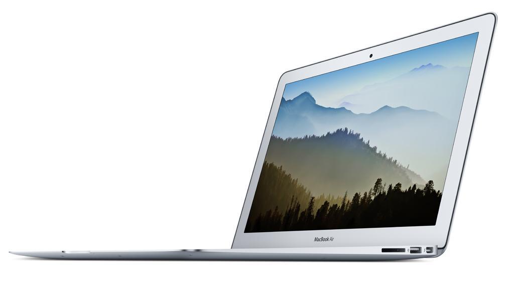 Kết quả hình ảnh cho 1.8 GHz Core i5 MacBook Air 128GB storage (mid 2017)
