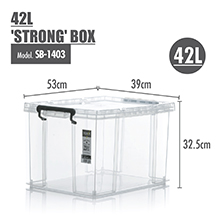 Sturdy Design: HOUZE - 21L 'STRONG' Box