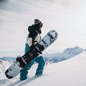 Fired Brick Tanimbar Prospect Under Gloves BURTON Mens 2018 Snowboard Snow