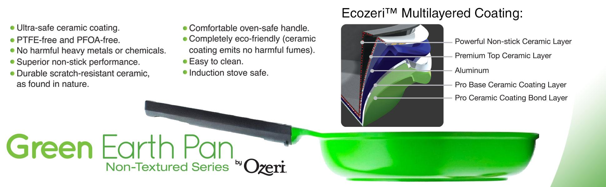 Amazon Com The 10 Quot Green Earth Frying Pan By Ozeri With
