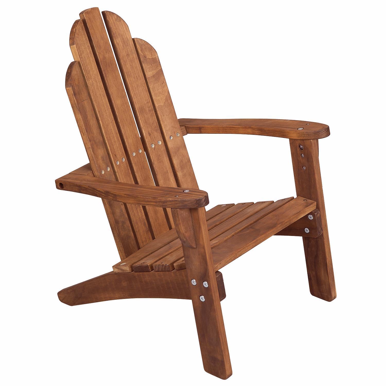 Amazon.com: Maxim Child\'s Adirondack Chair. Kids Outdoor Wood Patio ...