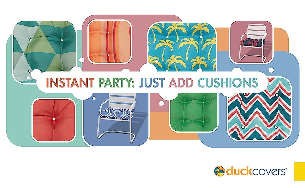 Duck Patio cushions