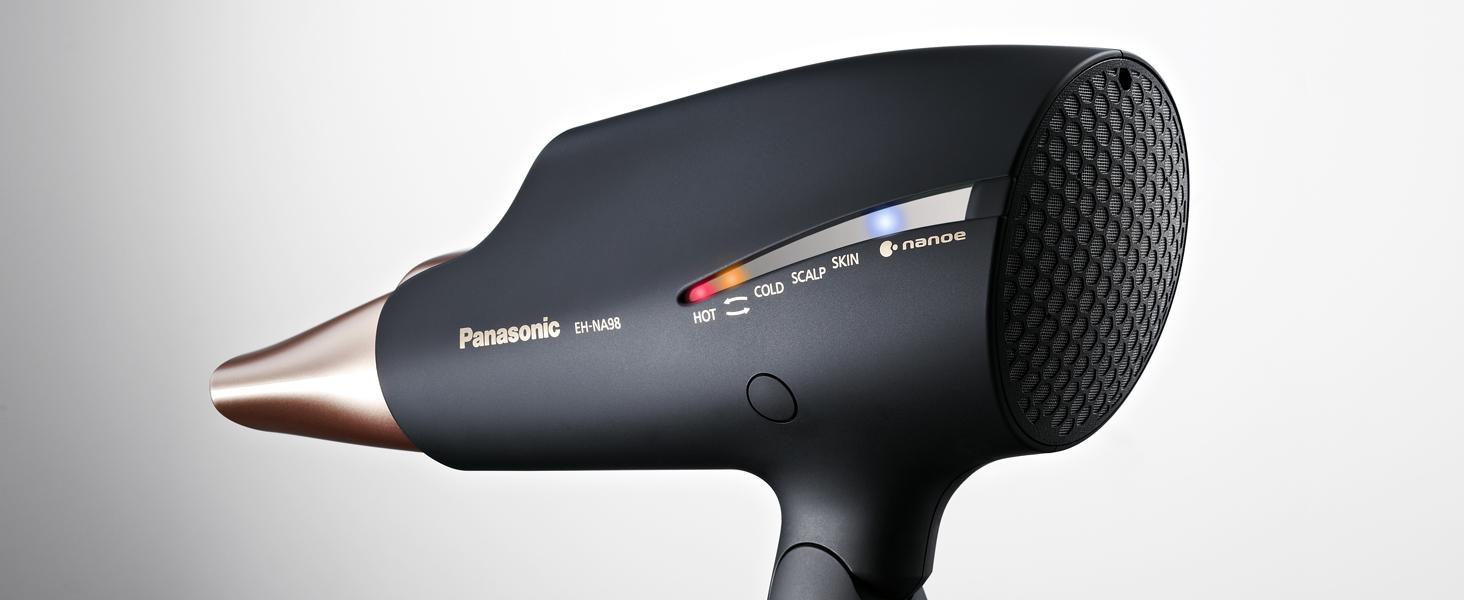 Panasonic EH-NA98 Hair Dryer Key Functions