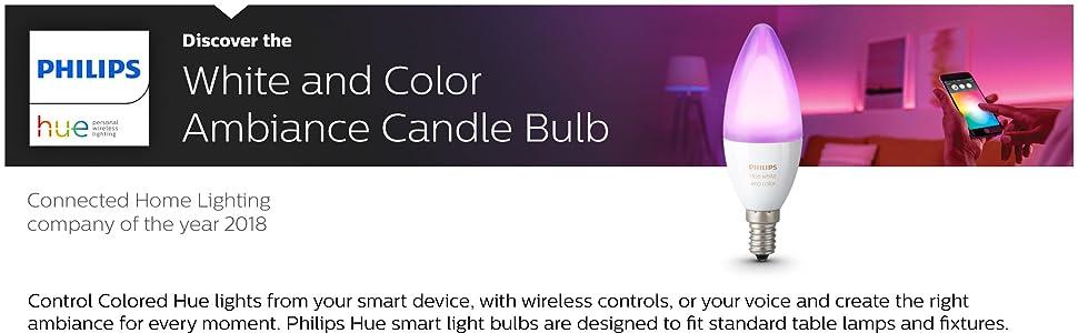 Hue Colour Candle E14