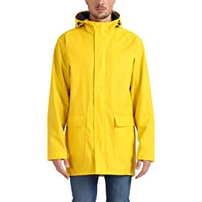 Lower East Chaqueta impermeable para hombre