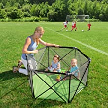 Amazon Com Summer Infant Pop N Play Portable Playard Baby