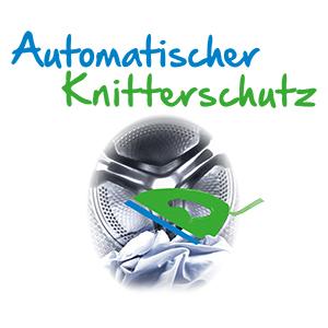 Automatischer Knitterschutz, Trocknen