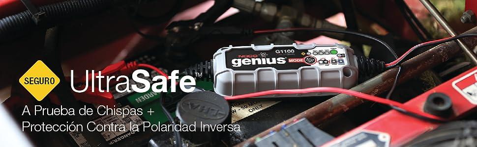 6V and 12V, battery charger, maintainer, battery desulfator, lead-acid batteries, 40 amp-hours