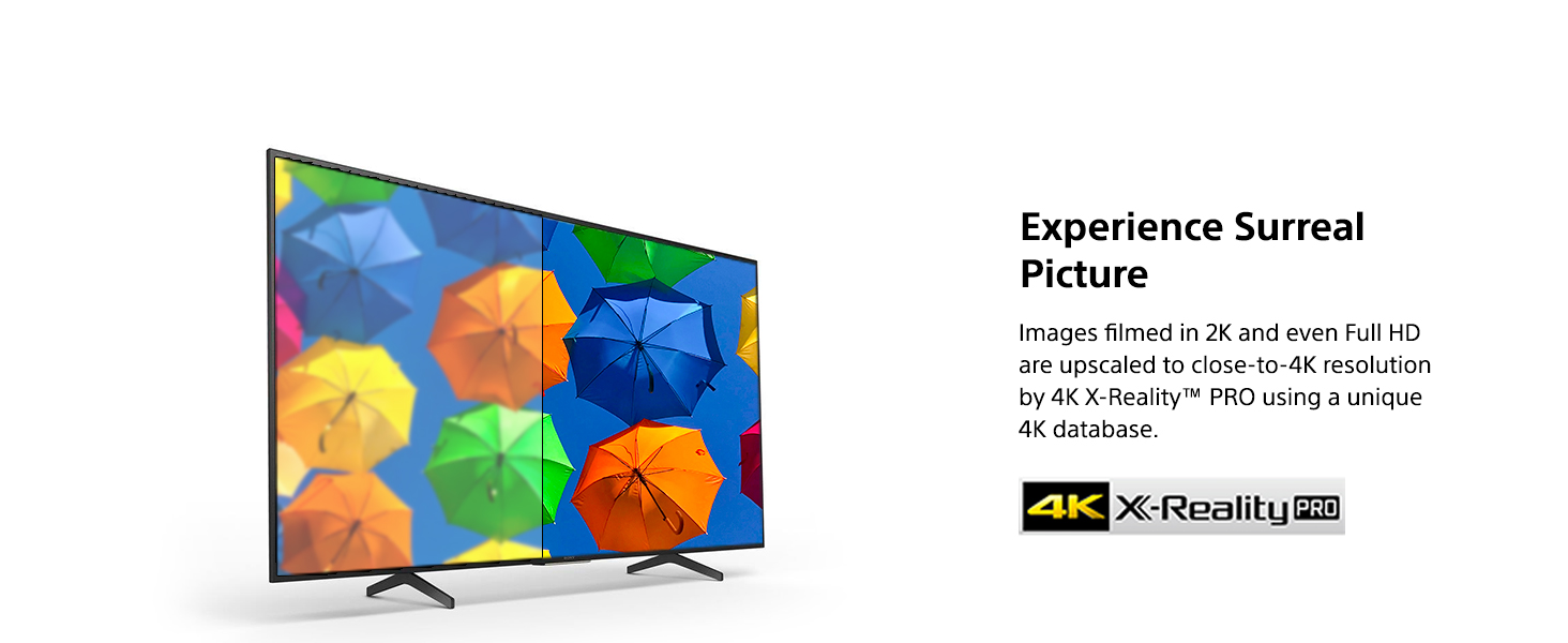 4K X-reality PRO