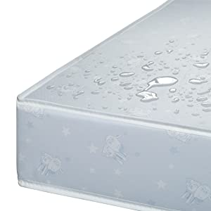 serta crib toddler mattress baby infant water resistant vinyl stains moisture