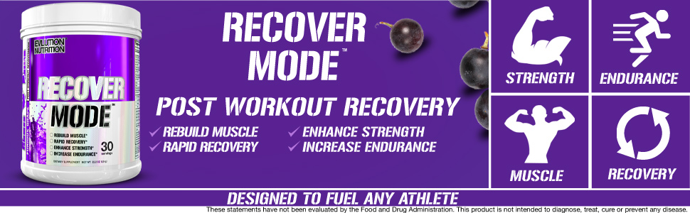 recover mode, post workout recovery