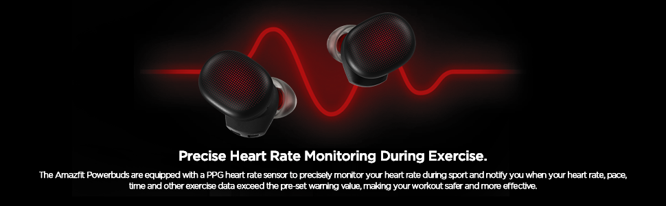Powerbuds Heart Rate Monitoring