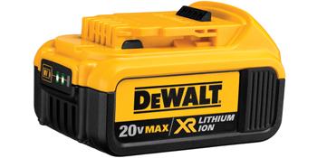 DCB204 - Bateria 20V MAX* Íon de Lítio 4.0 Ah