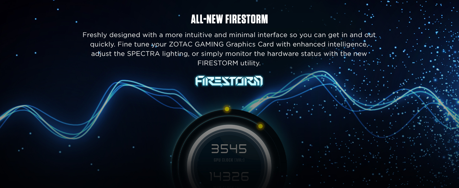 ZOTAC GAMING GeForce GTX 1660 Ti Graphics Card - All New FIRESTORM