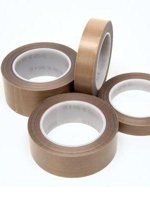 Silicone Adhesive 0.5 x 36 Yards Teflon 21-3S Teflon Coated Tape