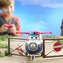 Superwings RC Télécommande Avion Paul /& JAIS /& Donnie personnage Super Wings