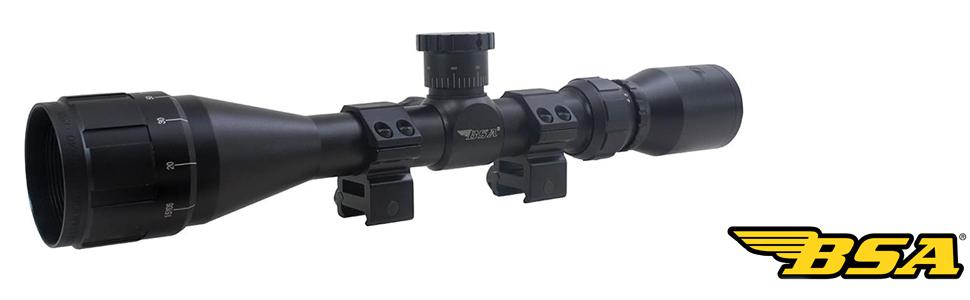 hunting scope, bsa scope, hunting scope, hunting scope recitle red, adjustable scope
