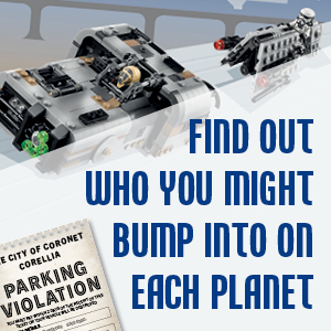 Find out who you might bump into on each planet