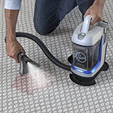 spotless hoover portable spot cleaner bissell spotclean spotbot cordless convenient clean mess stain