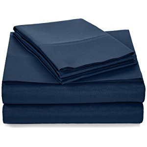 Surprisingly Soft For Being So Budget Friendly, This AmazonBasics  Microfiber Sheet Set Adds A Wonderful Dose Of Cozy To Any Well Made Bed.