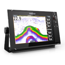 Built-in echosounder supports fishing and safer cruising