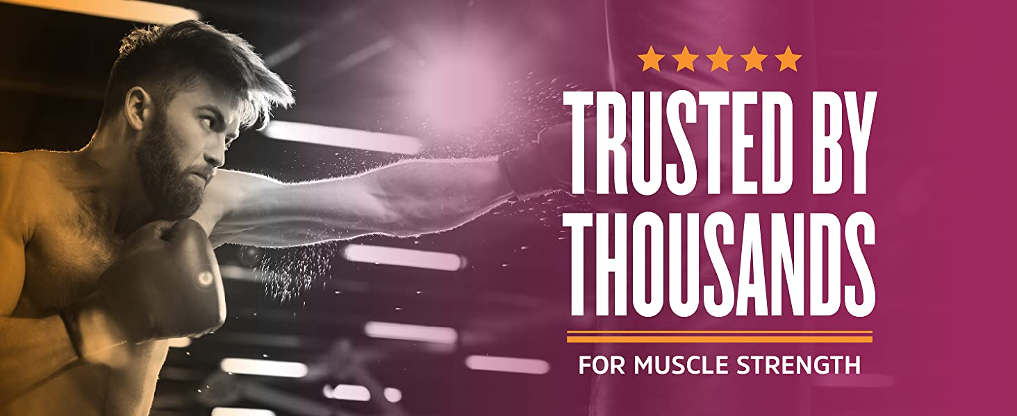 Trusted by Thousands for Muscle Strength.