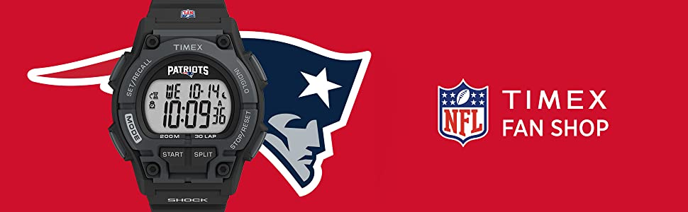 Timex, NFL, Takeover