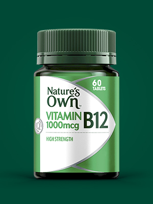 Nature's Own; Nature's Own Vitamin B12; Nature's Own vitamin B12 tablet; Vitamin B supplement