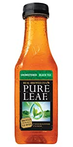 Amazon Com Pure Leaf Iced Tea Unsweetened Lemon Real
