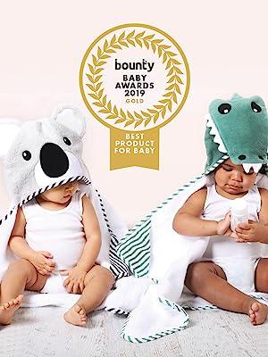 aussie animals, novelty towels, hooded towel, baby, koala, crocodile