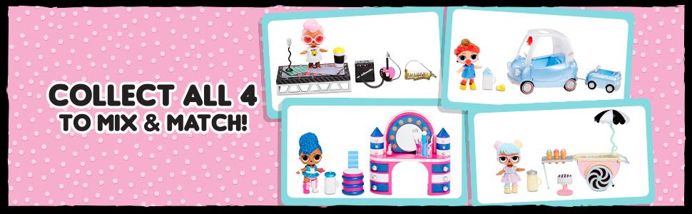 LOL сюрприз мебельные пакеты;  кукла для мороженого LOL неожиданная;  мебельный пакет;  пакеты мебели;  кукла лол
